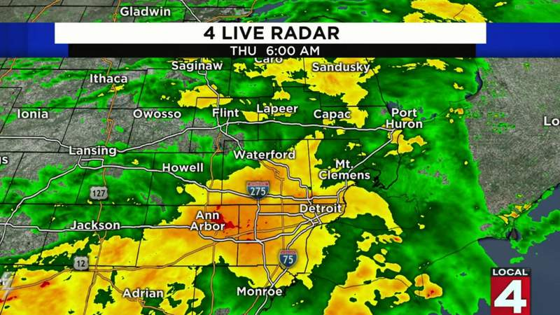 Metro Detroit weather forecast for July 16, 2020 -- morning update