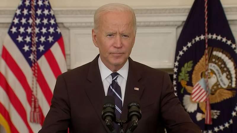 President Joe Biden addressing the nation on Sept. 9, 2021.