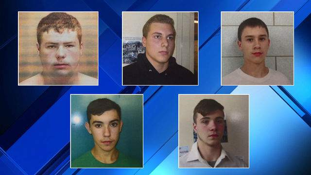 Five teenagers are charged with second-degree murder in the I-75 rock-throwing death of a 32-year-old man. (WDIV)