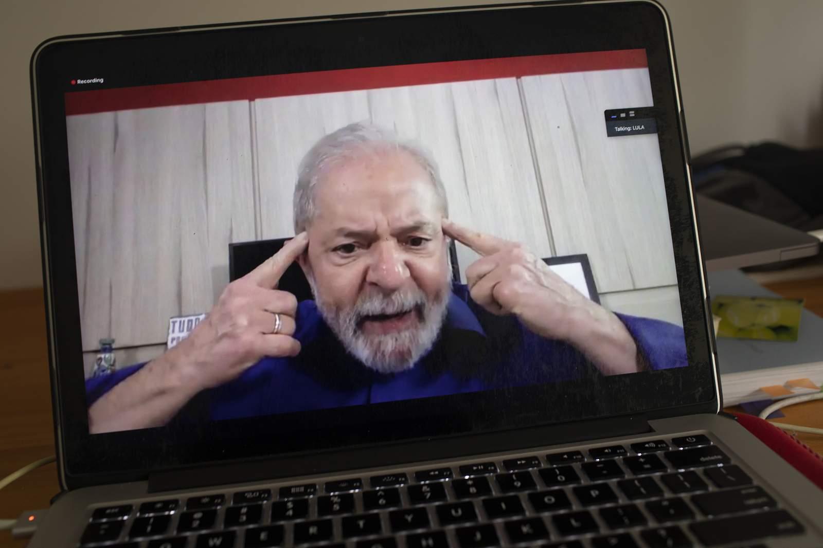 `Lula` says Bolsonaro a disaster amid pandemic...
