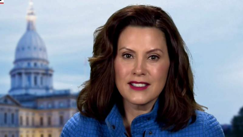 Michigan Gov. Whitmer talks to NBC about her state's COVID-19 response