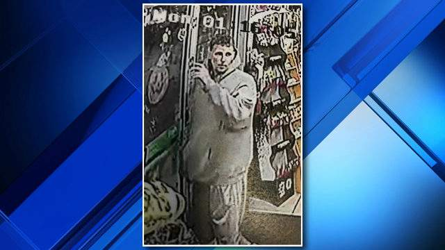 Taylor police are looking for a man wanted on suspicion of the armed robbery of a 7-Eleven store on Oct. 1, 2018. (WDIV)
