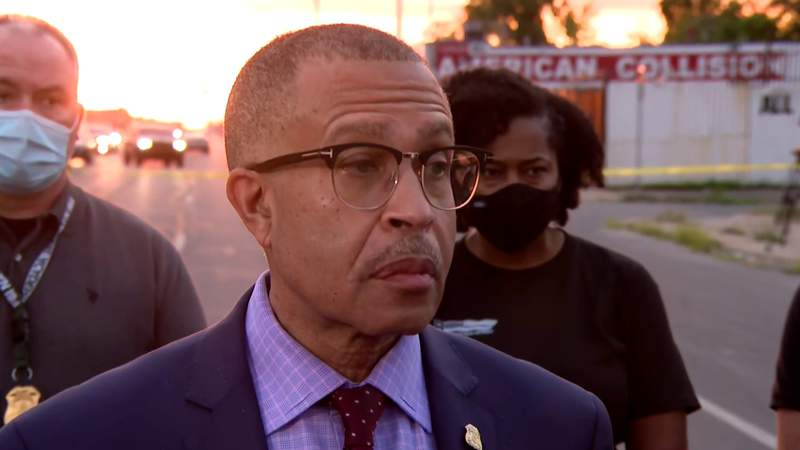 Watch: DPD Chief James Craig provides update on officer involved shooting