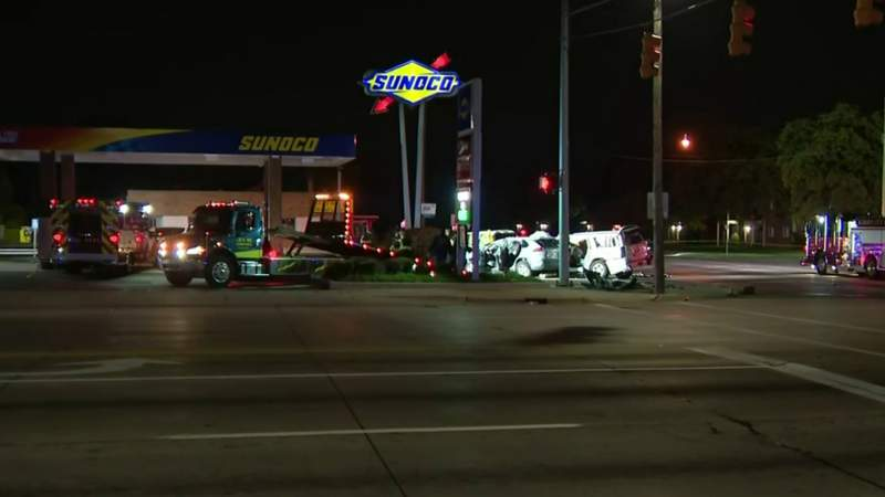 Shooting in Inkster leads to deadly crash in Dearborn Heights