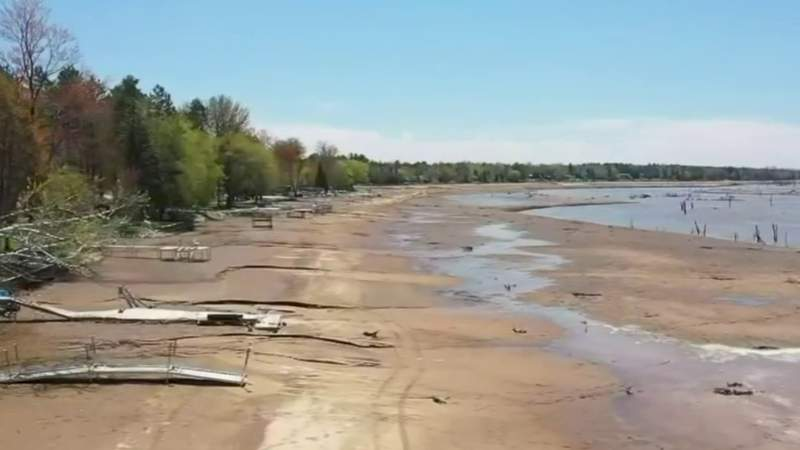 Homes flooded, some destroyed along Tittabawassee River
