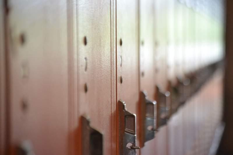 School lockers.