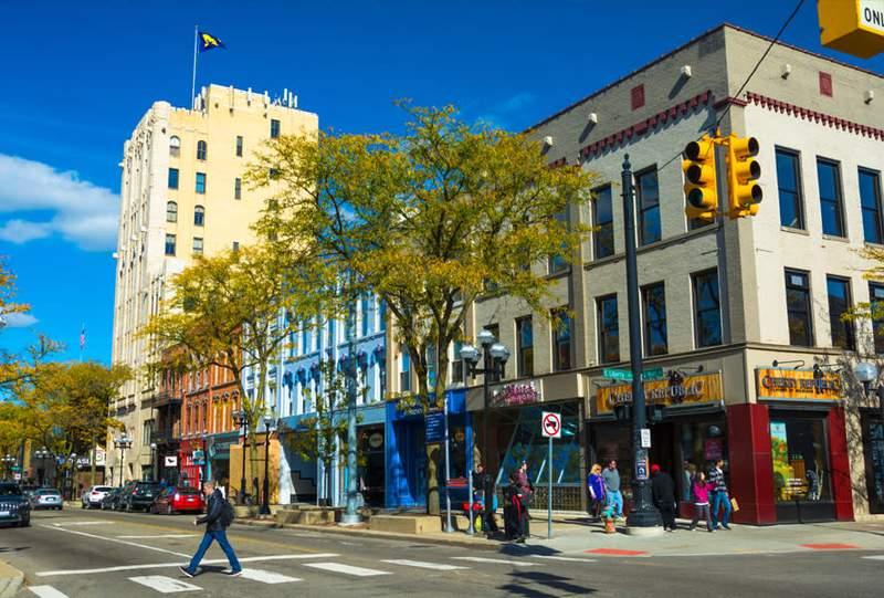 Ann Arbor's Main Street.