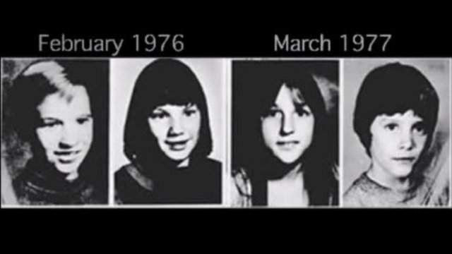 Oakland County Child Killer victims, from left to right: Mark Stebbins, Jill Robinson, Kristine Mihelich and Timothy King