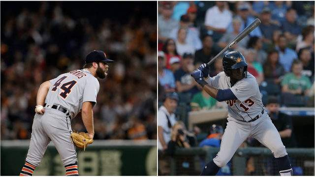 Daniel Norris and Daz Cameron are both scheduled to play for the Detroit Tigers on Feb. 25, 2019. (Getty Images)