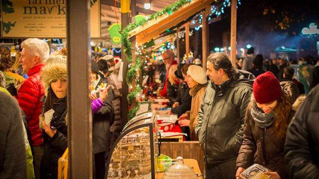Shoppers at KindleFest.      Photo credit | Kerrytown District Association website