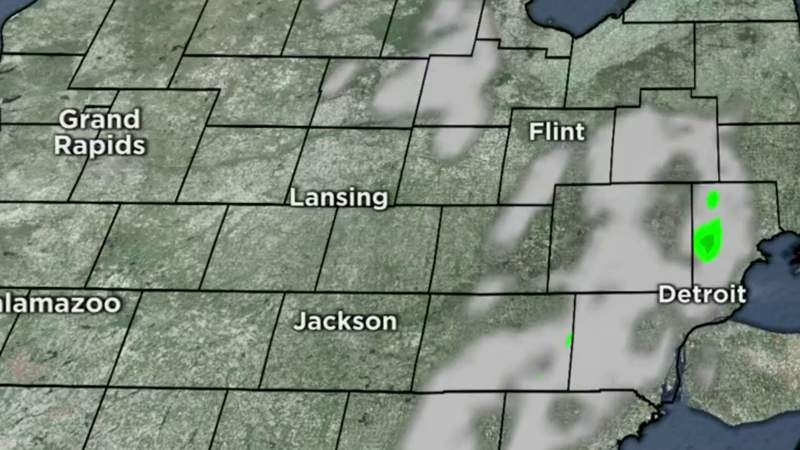 Metro Detroit weather forecast for May 12, 2021 -- 7 a.m. Update