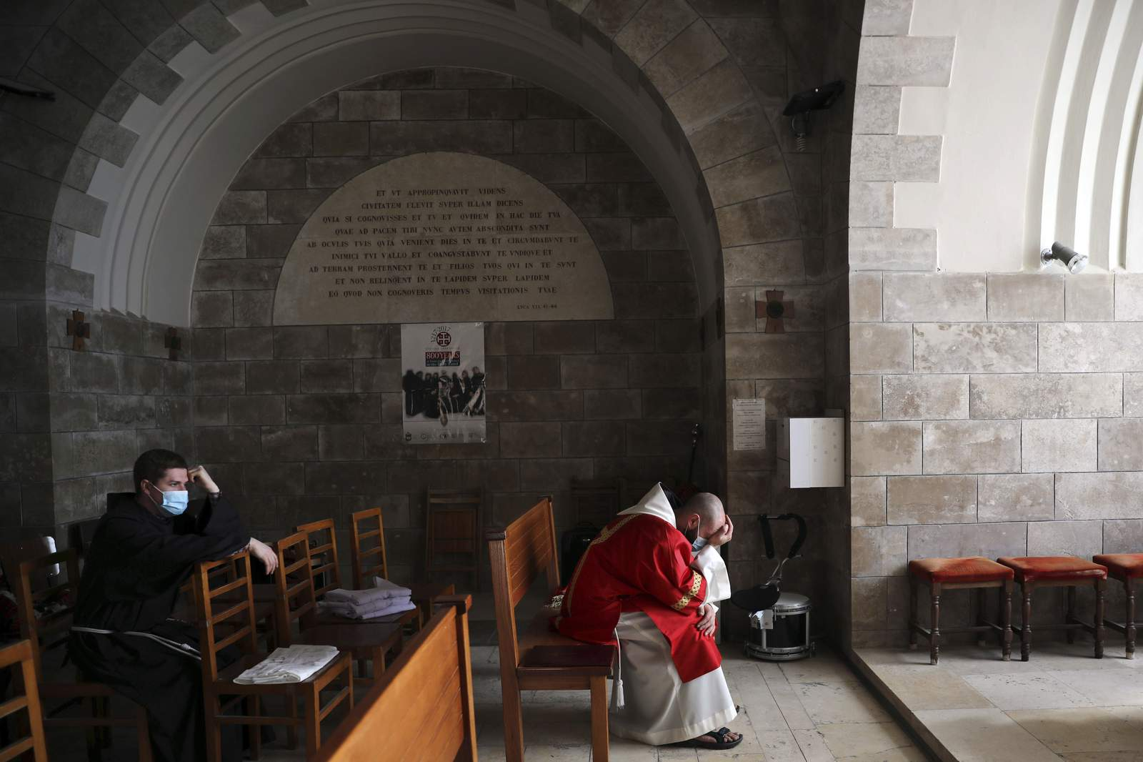 Christians mark Good Friday as some holy sites reopen