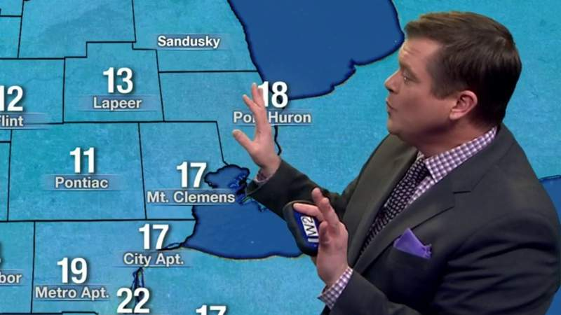 Metro Detroit weather: Cold Wednesday, getting colder tonight, Feb. 19, 2020, noon update