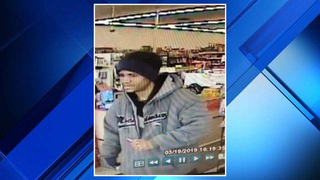 A suspected dollar store thief in Dearborn Heights. (WDIV)