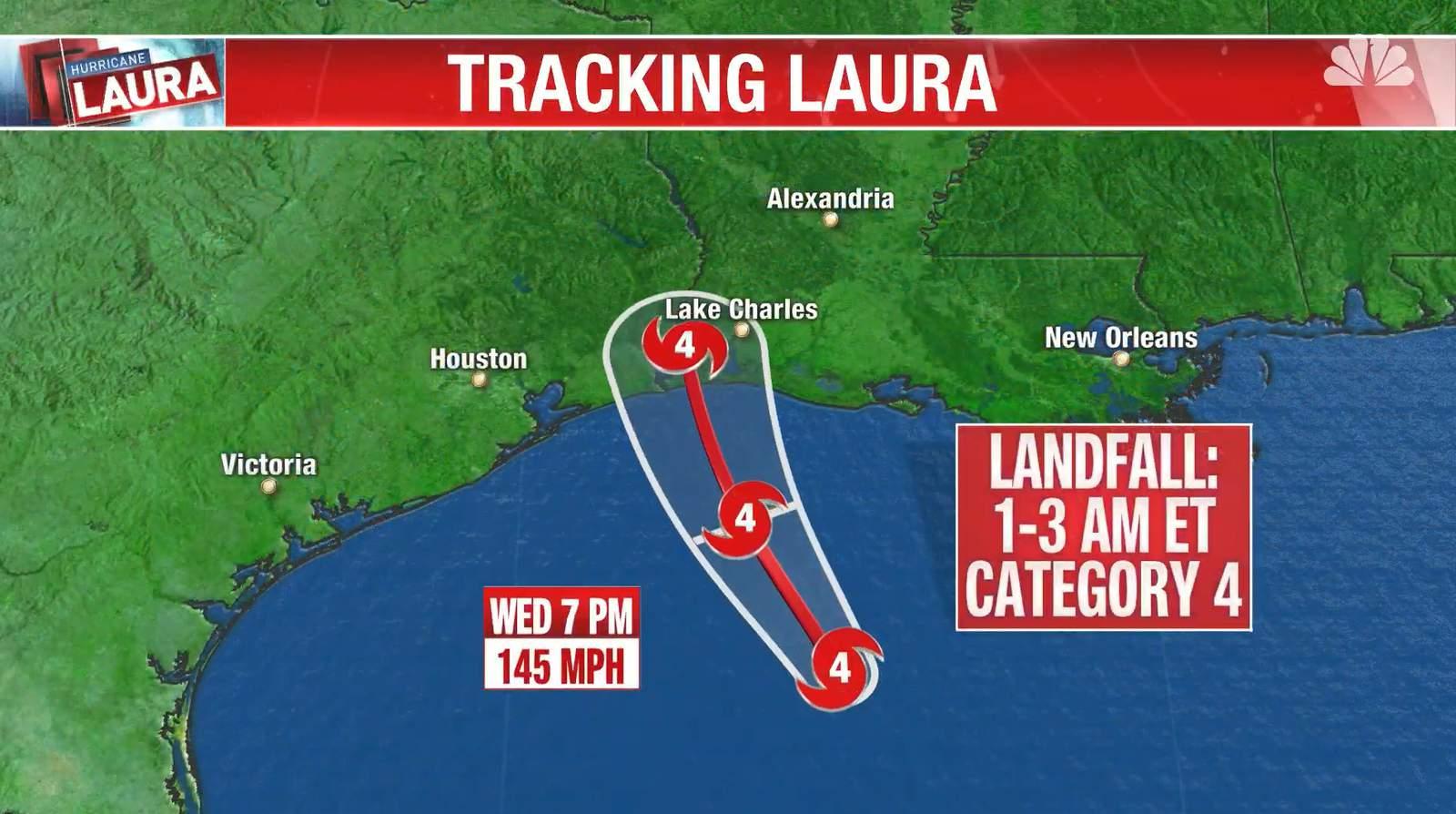 Watch Live Tracking Hurricane Laura
