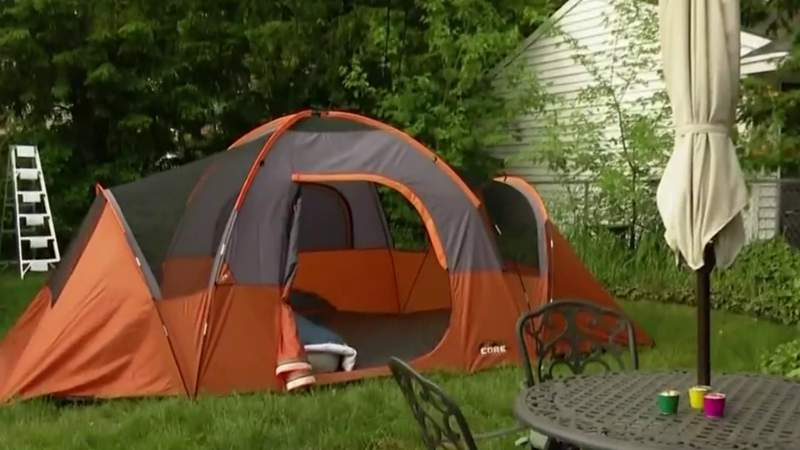 Backyard Camping Family Fun with Michelle Oliver on Live in the D