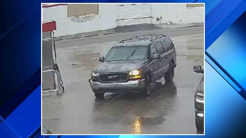 An SUV linked to a hit-and-run crash Jan. 11, 2020, along Michigan Avenue.