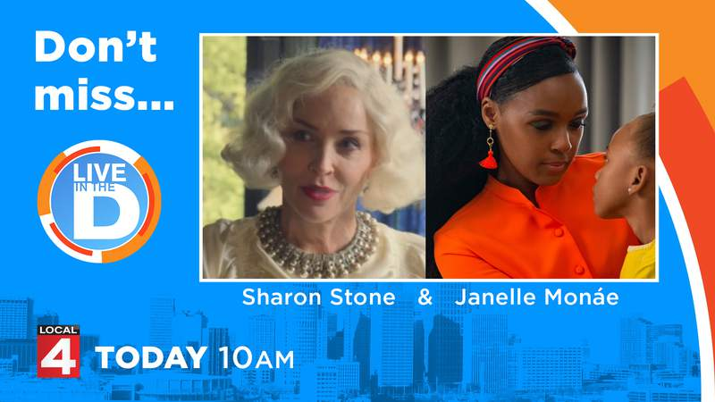 Sharon Stone & Janelle Monae on Live in the D