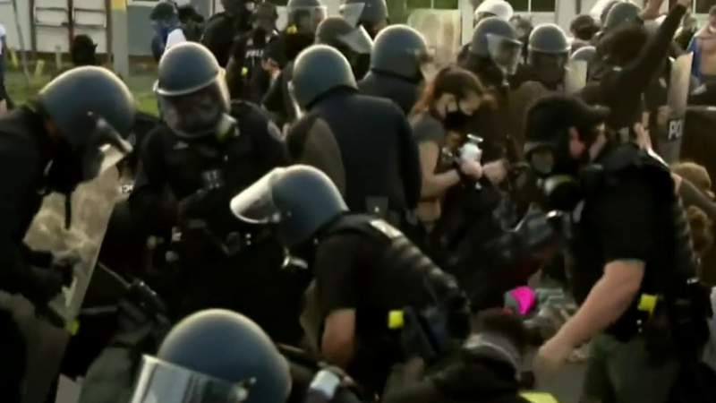 Why officials didn't enforce curfew Wednesday night as protesters marched through Detroit streets