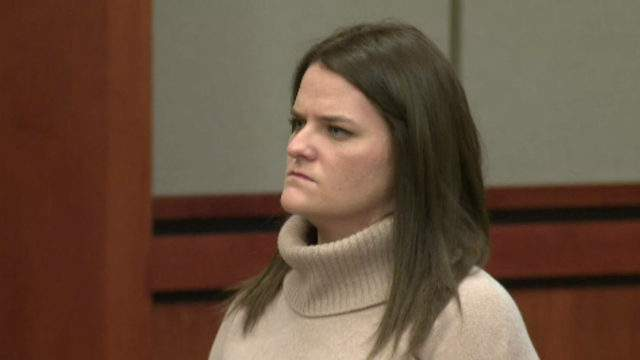 Kathryn Houghtaling in court Jan. 30, 2019. (WDIV)
