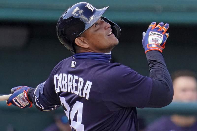 Miguel Cabrera. (AP Photo/Gene J. Puskar)