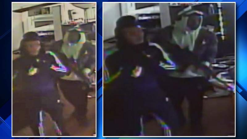 Detroit police are looking for three man wanted in connection to a burglary on Dec. 23, 2019.