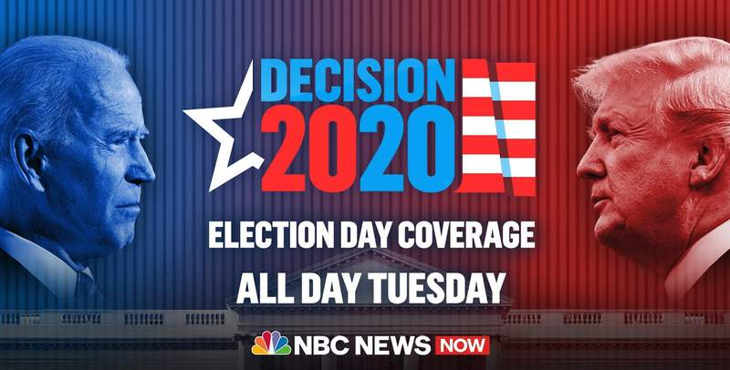Election Day 2020 Updates On NBC News NOW