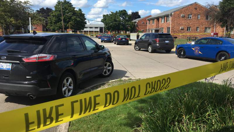 Police are investigating a shooting in Dearborn Heights on Aug. 29, 2020.
