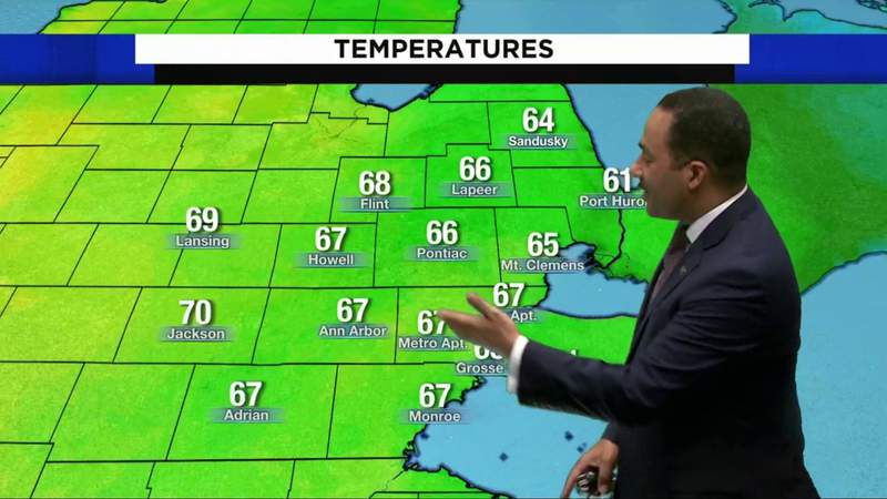 Metro Detroit weather: Far from freezing Saturday, May 1, 2021, 8 p.m. update
