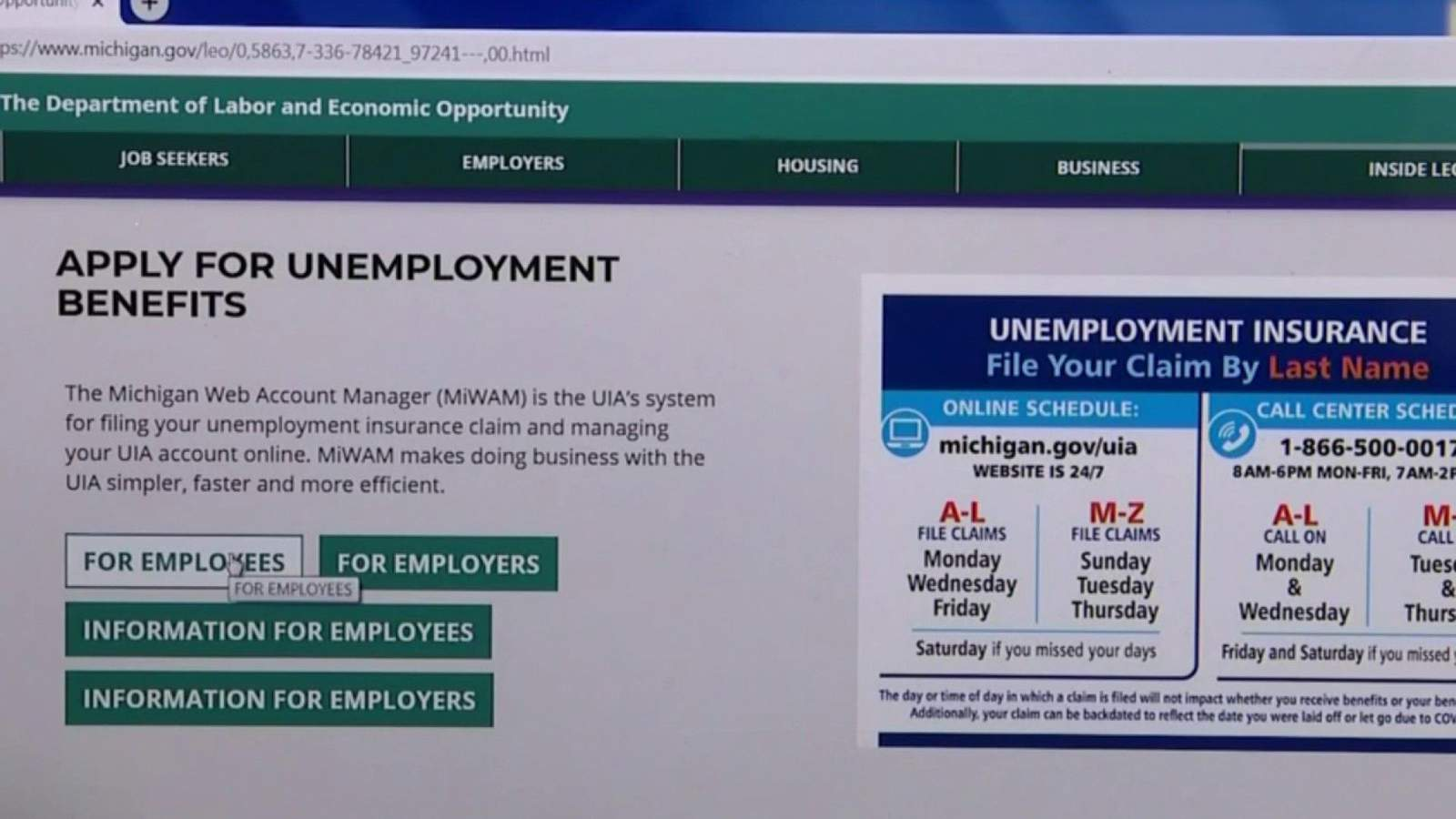 Photo of Live today: Update on Michigan unemployment system, federal CARES Act | Dave Bartkowiak Jr.