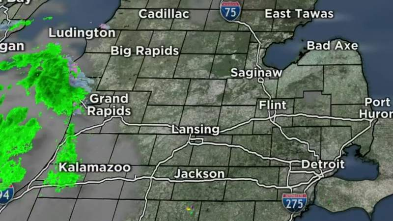 Metro Detroit weather forecast for May 10, 2021 -- 6 a.m. Update