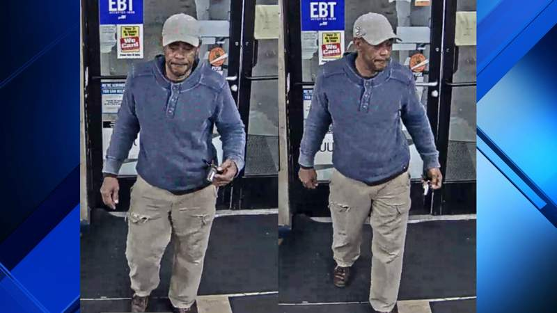 Detroit police are looking for this man after he allegedly broke into a business and stole oil April 20, 2020.