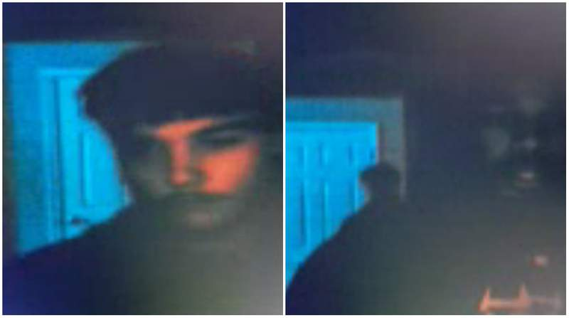 Two men suspected of breaking into a Farmington Hills home on Feb. 21, 2020.