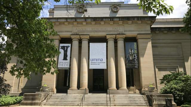 UMMA is housed inside the university's Alumni Memorial Hall (Photo: Meredith Bruckner)