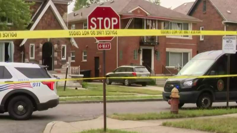 Baby found alive inside Detroit home with parents who'd been shot to death