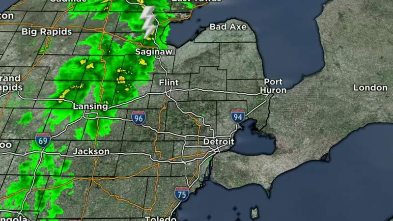 Metro Detroit Weather: Rainy start to Mother's Day weekend, May 7, 2021, noon update