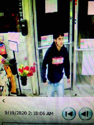 One of the men wanted for the Pontiac 7-Eleven stabbing is pictured here.