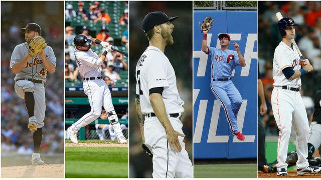 The Detroit Tigers have three players who could be dealt for young players and prospects at this year's trade deadline. (Getty Images)