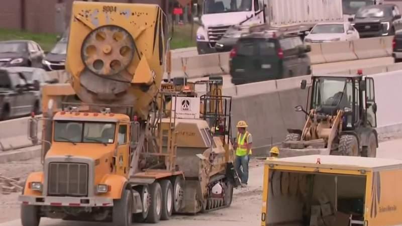 Summer construction season heats up in Metro Detroit