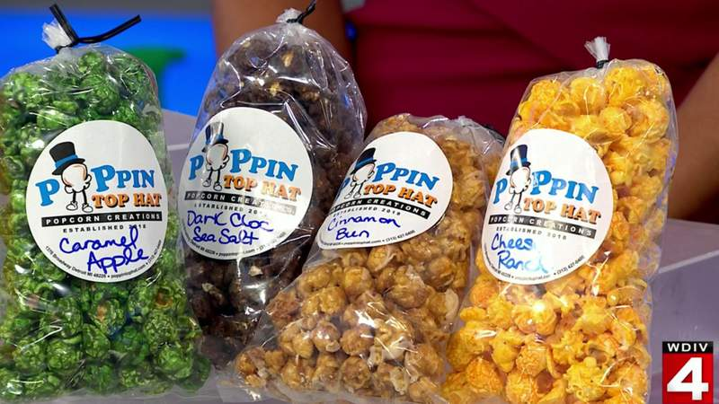 Tasty Tuesday: Poppin Top Hat Popcorn Creations