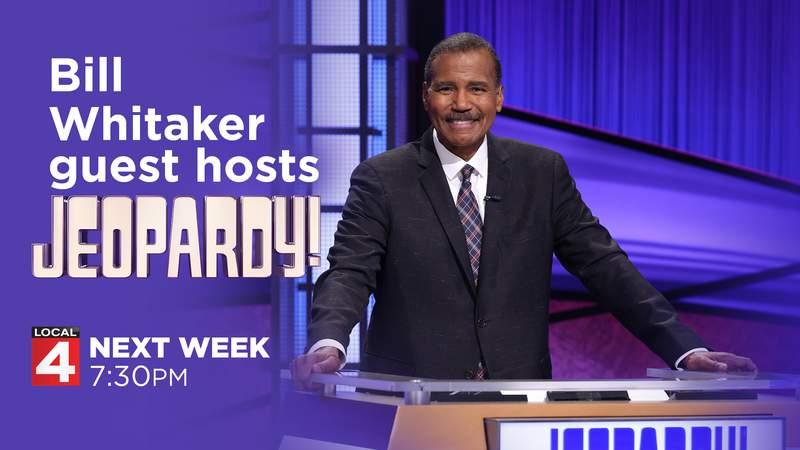 Bill Whitaker guest hosts Jeopardy!