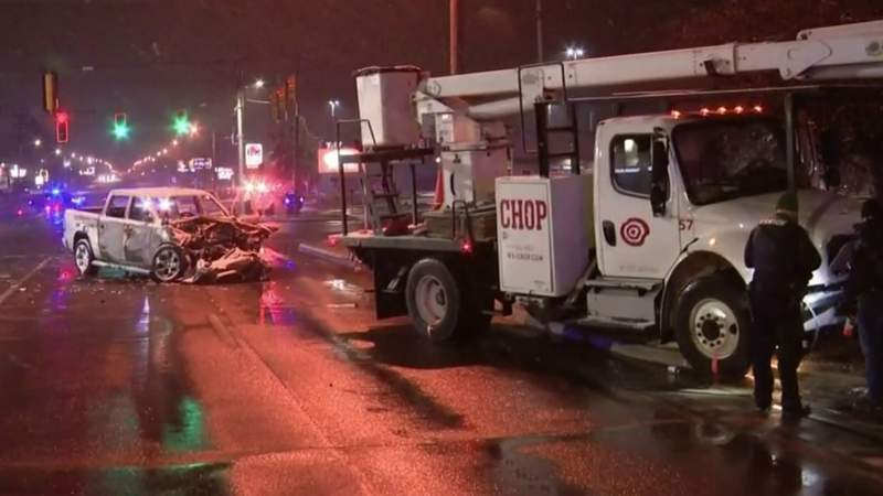 Father, 12-year-old daughter killed in crash in Shelby Township