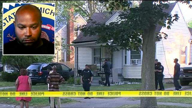 Earl Thomas-Lionel Maxwell is accused of fatally shooting Latrese Morris-Dorsey, 42, June 18, 2017 at her home in the 20060 block of Avon Avenue. (WDIV)
