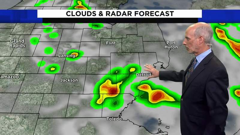 Metro Detroit weather: Temps nearing 90 degrees Friday, June 11, 2021, noon update