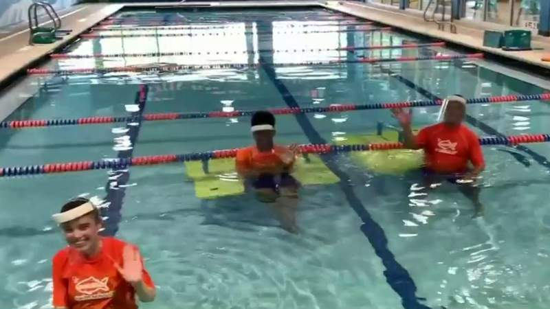 Metro Detroit swim schools team up to get kids back in the water safely