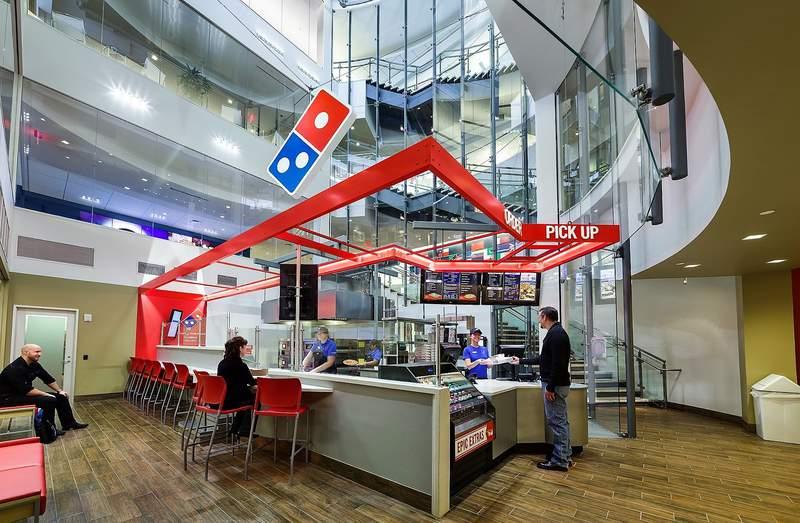 Pizza Prep School in the Domino's Pizza World Resource Center in Ann Arbor.