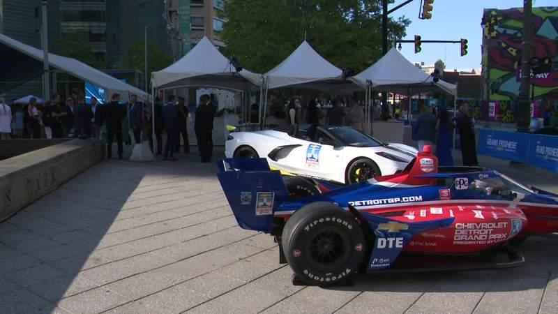 Leaders, professional race car drivers speak on 2021 Detroit Grand Prix
