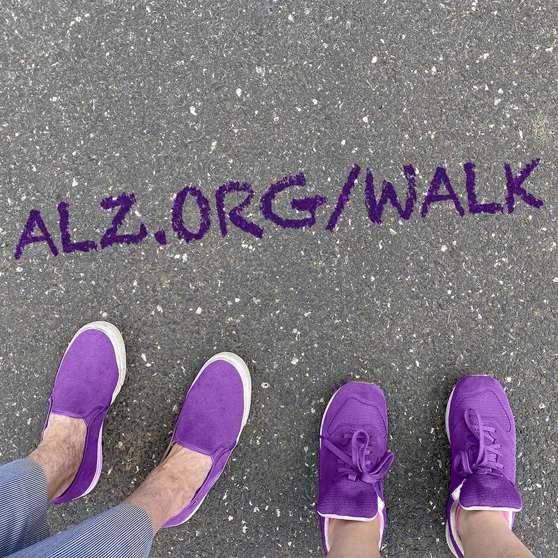 For Oct. 11 Walk to End Alzheimer's will take place virtually this year.