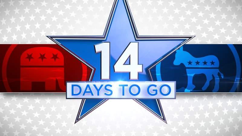14 days until Nov. 3, 2020