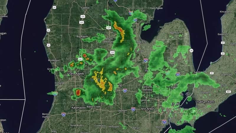 Metro Detroit weather: Severe storm threat looms